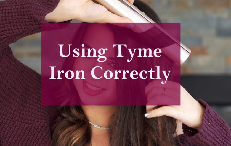how to use tyme iron