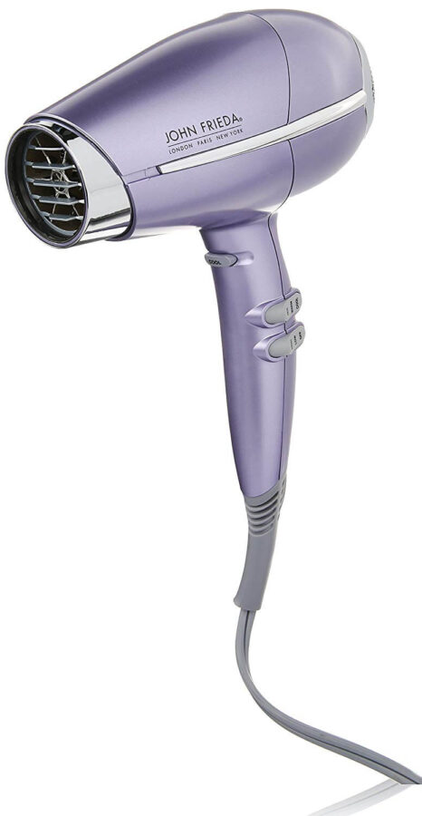 john frieda compact hair dryer