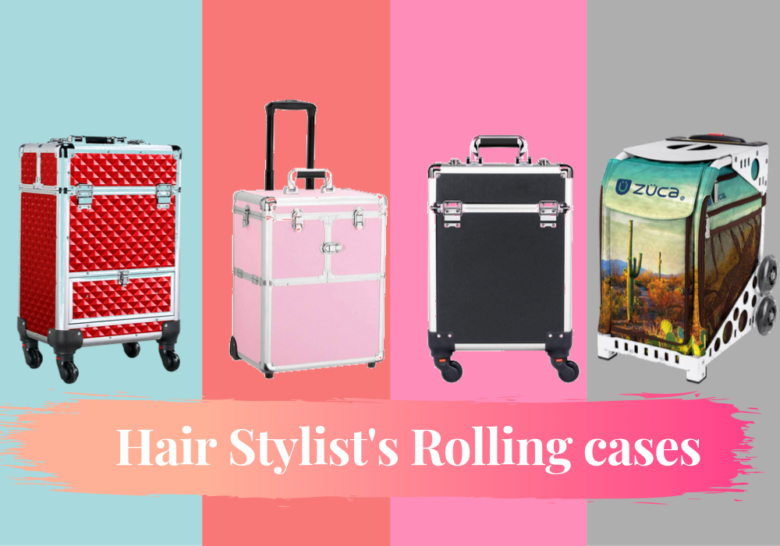 best Hair stylists rolling case
