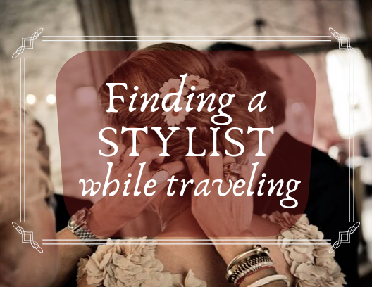 finding a hair styler while traveling