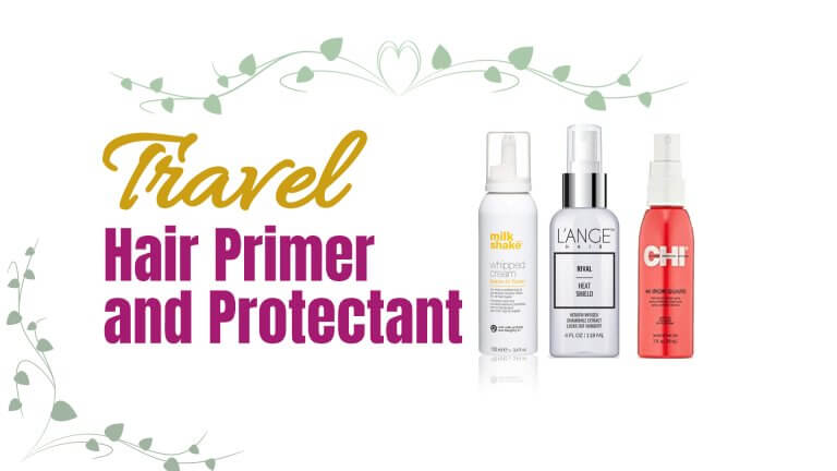 travel heat protectant and hair primer
