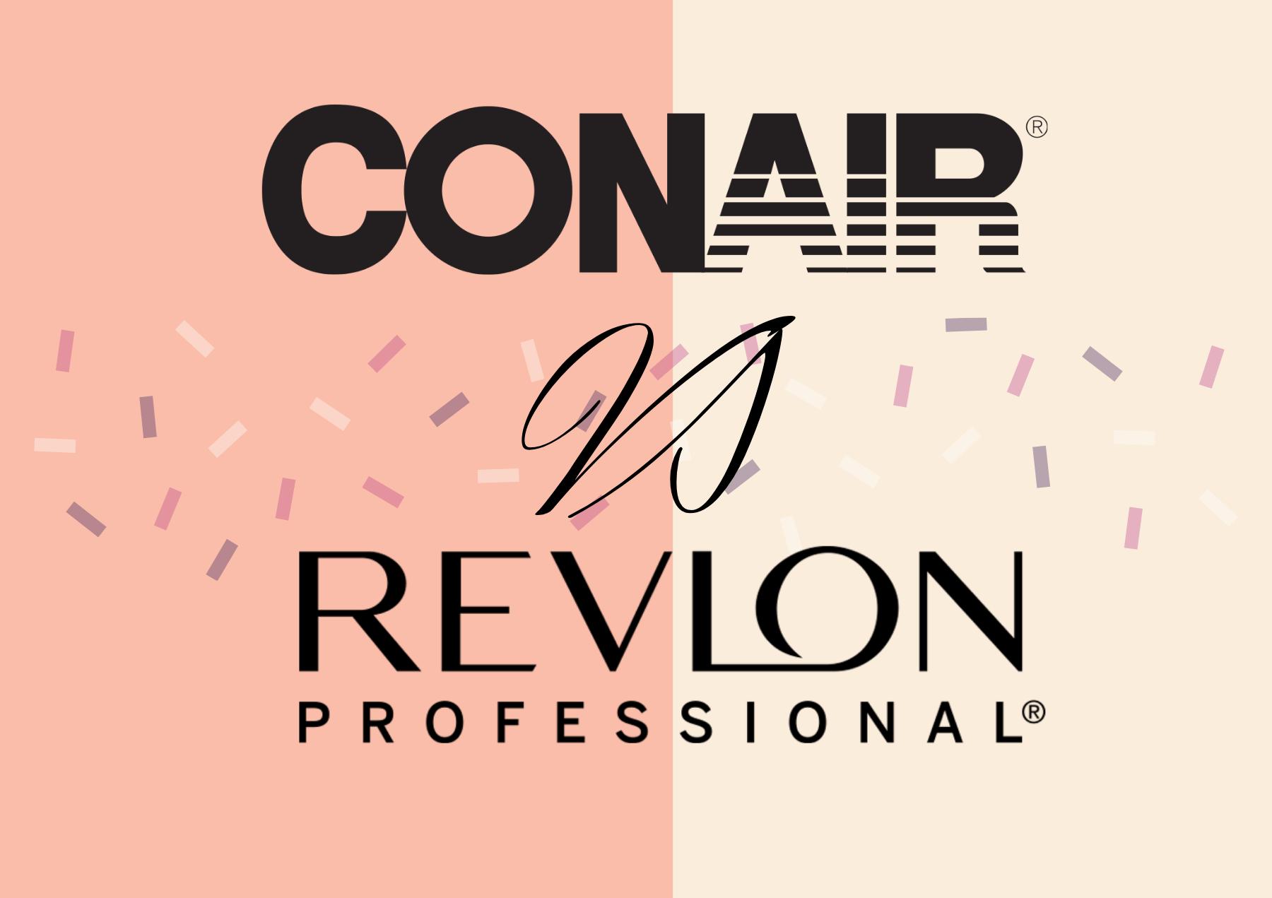 conair vs revlon air brushes