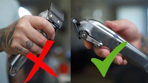 Correct holding clippers