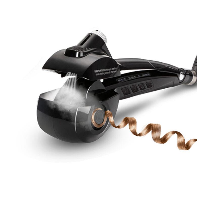 Steam hair curler