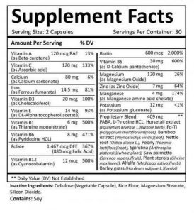 Suppliments facts 1